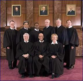 Members of the Texas Supreme Court - Group Photo